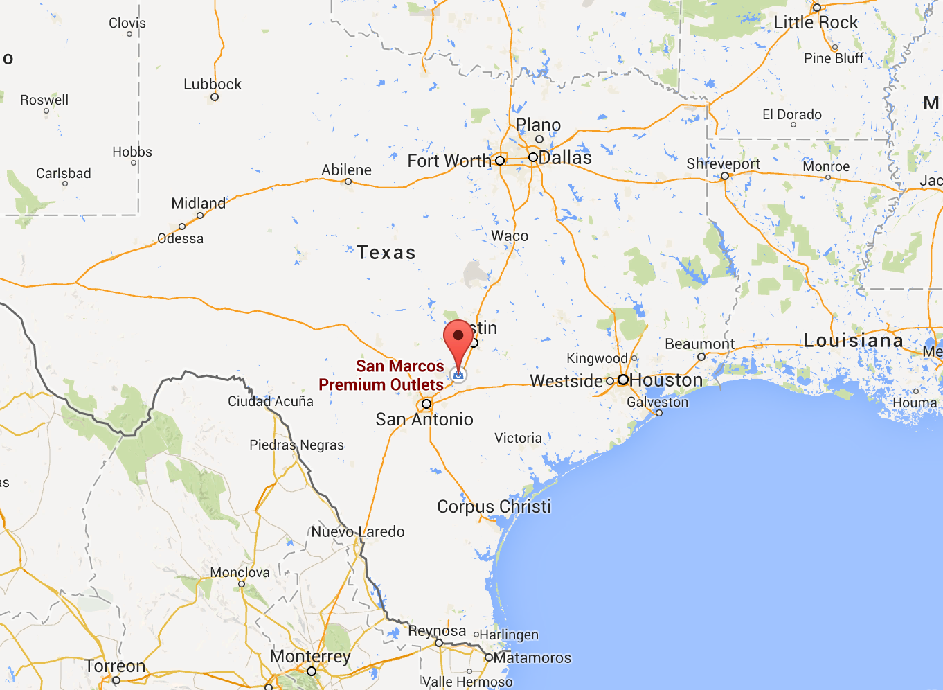 Texas to get first Tesla Superhcharger at San Marcos Mall between ...