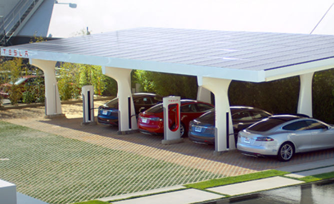 tesla-green-solar-SUPERCHARGER
