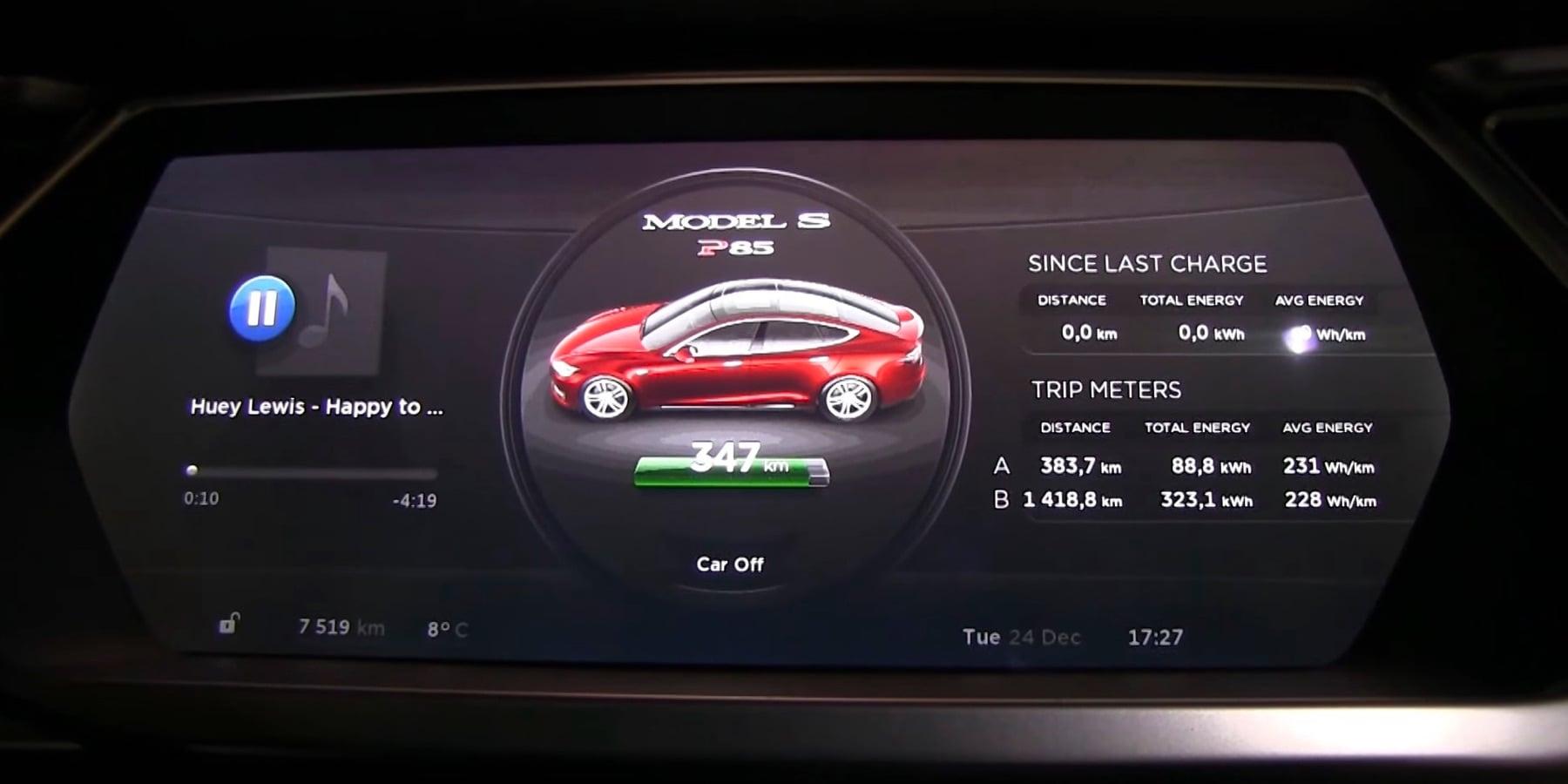 Tesla Model S Vampire Battery Drain