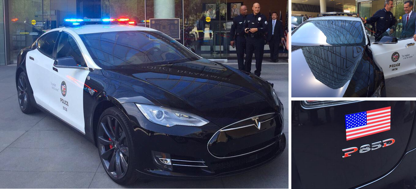 Uber Car Lease >> LAPD is getting a Tesla Model S - Los Angeles will lease a fleet of 288 electric vehicles - Electrek