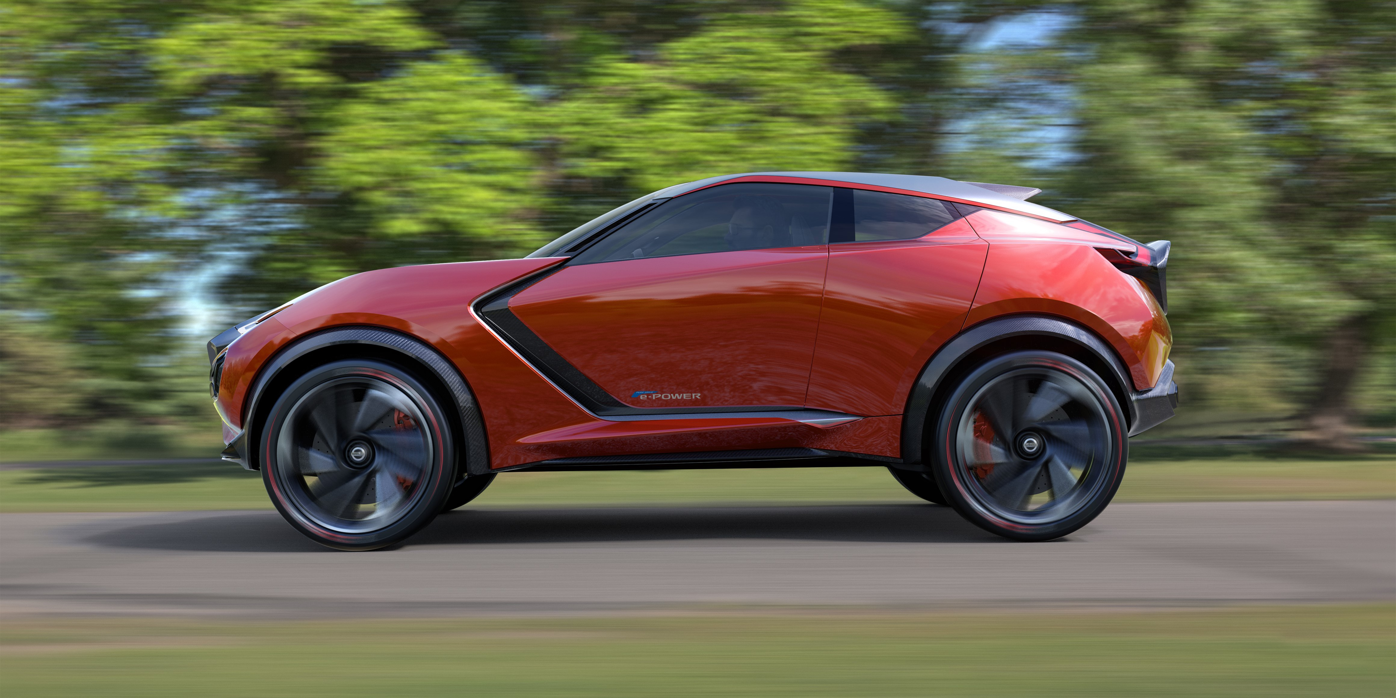 Nissan introduces the Gripz concept a sport crossover powered by