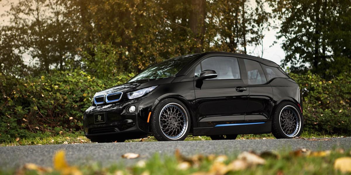 BMW i3 black