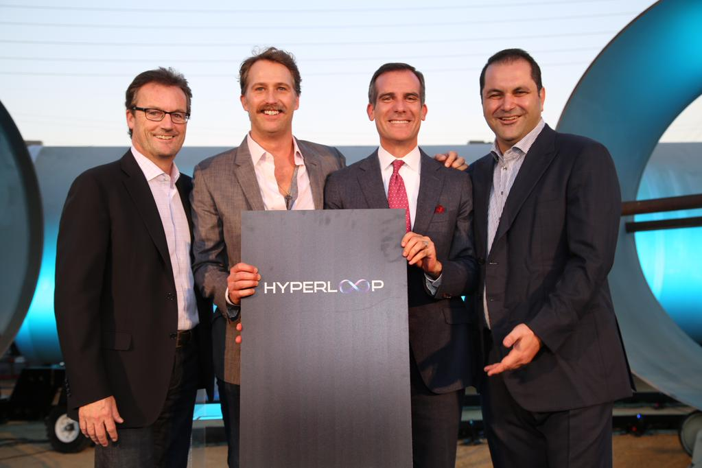 hyperloop LA mayor