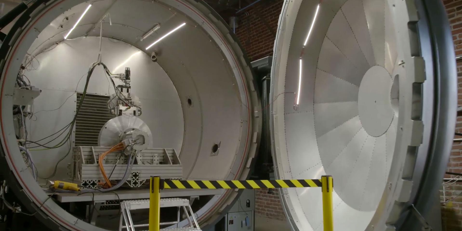 hyperloop vacuum