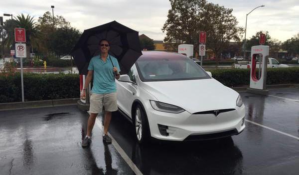 Model X rain