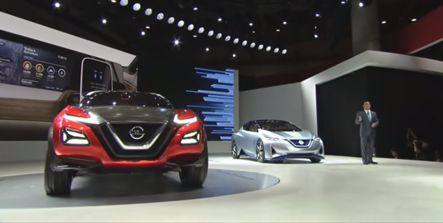 Nissan tokyo presentation