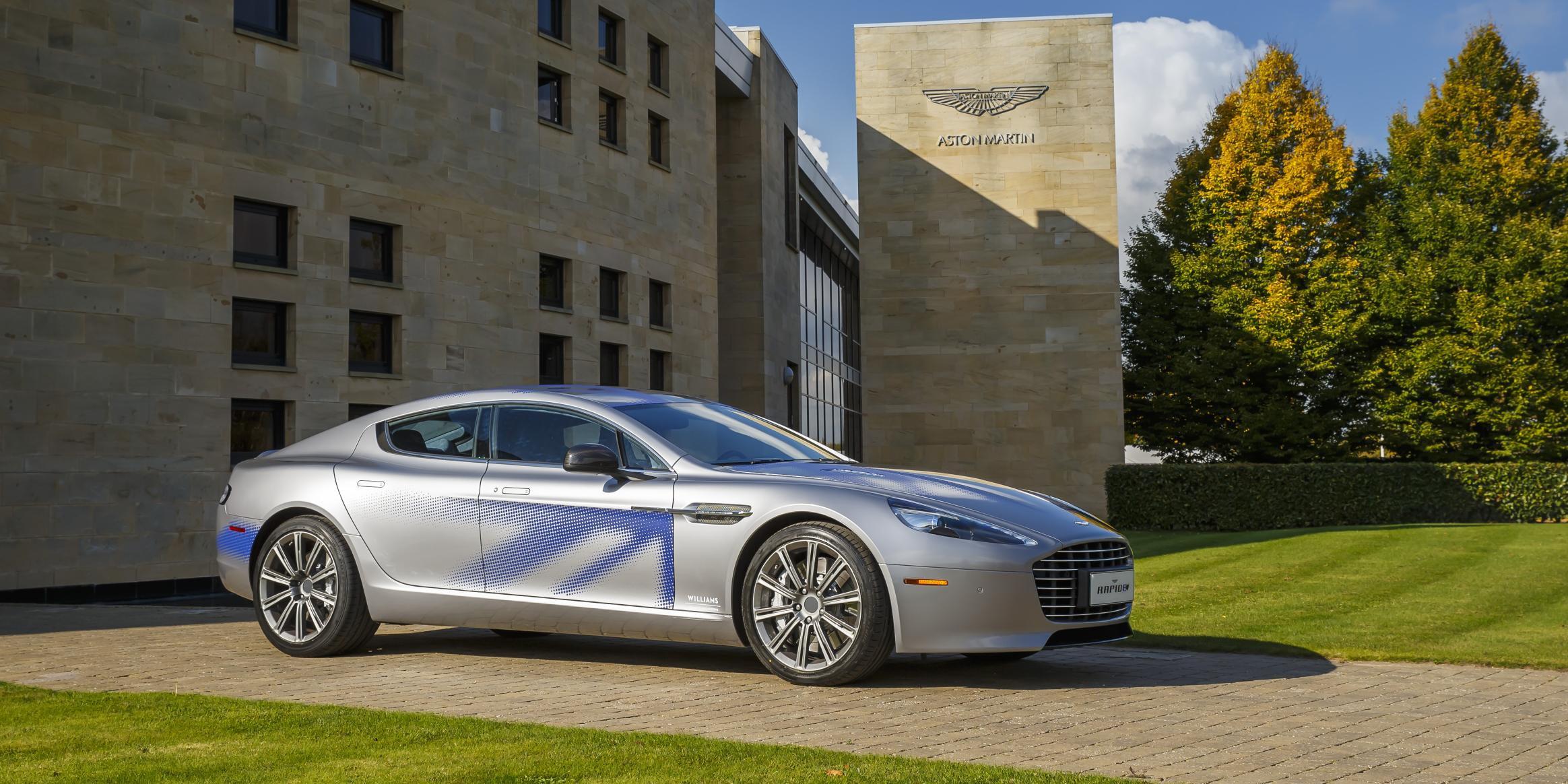 James Bond's next car will be the all-electric Aston Martin Rapide E