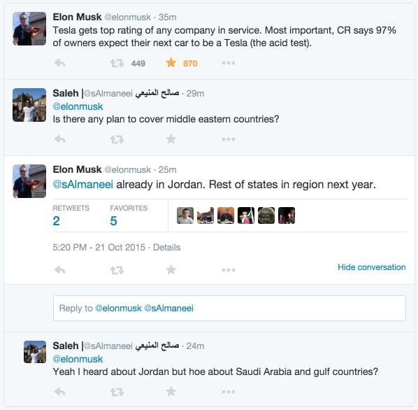 Tweets with replies by Elon Musk (@elonmusk) | Twitter 2015-10-21 18-45-49