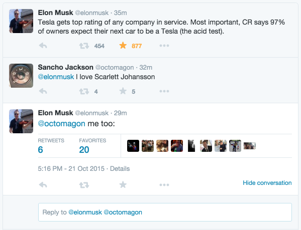 Tweets with replies by Elon Musk (@elonmusk) | Twitter 2015-10-21 18-46-42