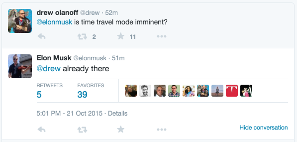 Tweets with replies by Elon Musk (@elonmusk) | Twitter 2015-10-21 18-52-53