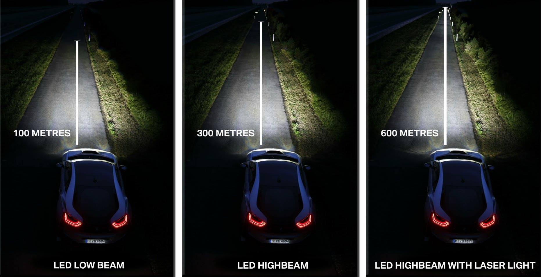bmw i8 39 s laser headlights will be available for the first time in the u s electrek