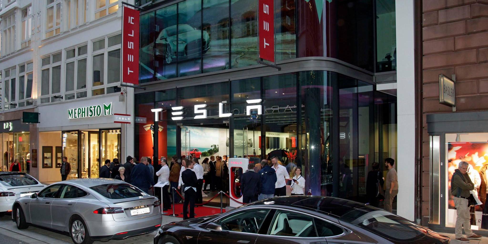 Tesla germany hamburg