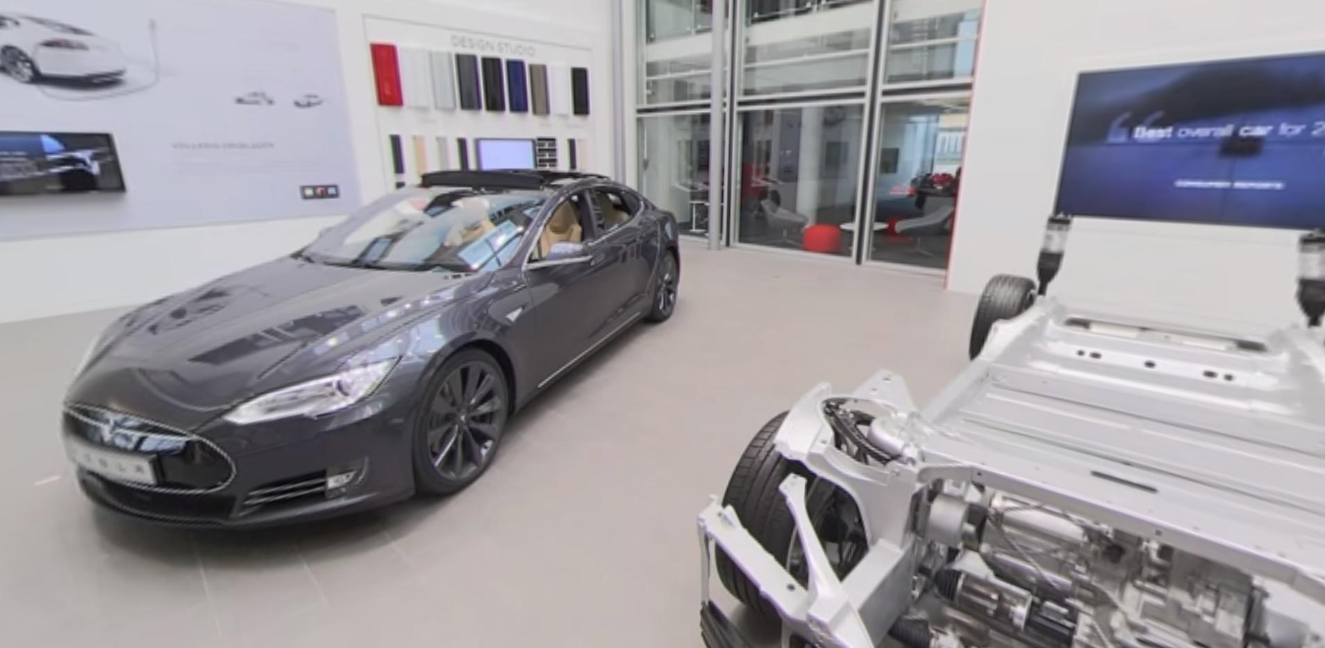Tesla Store 360
