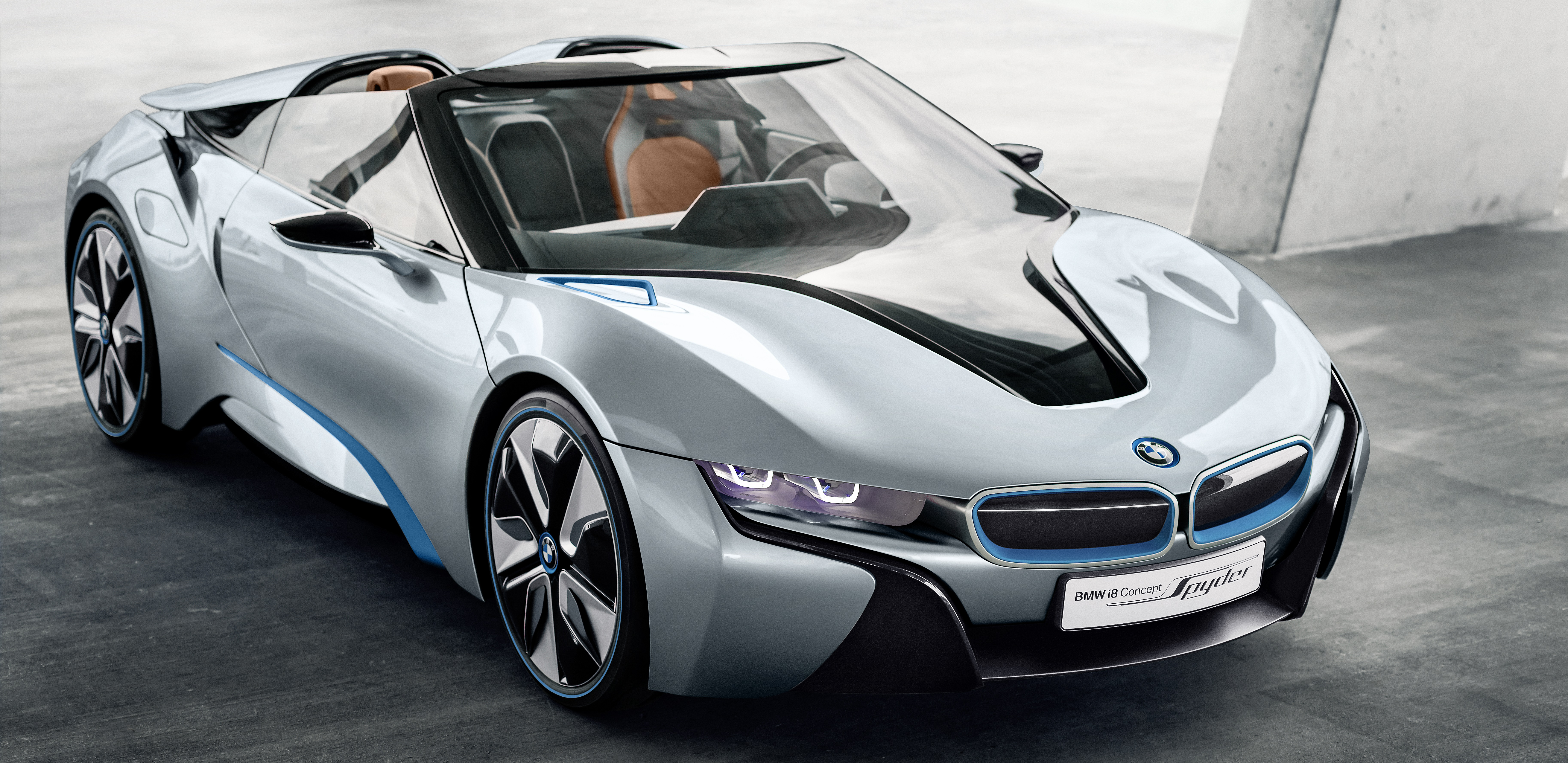 BMW i8 convertible