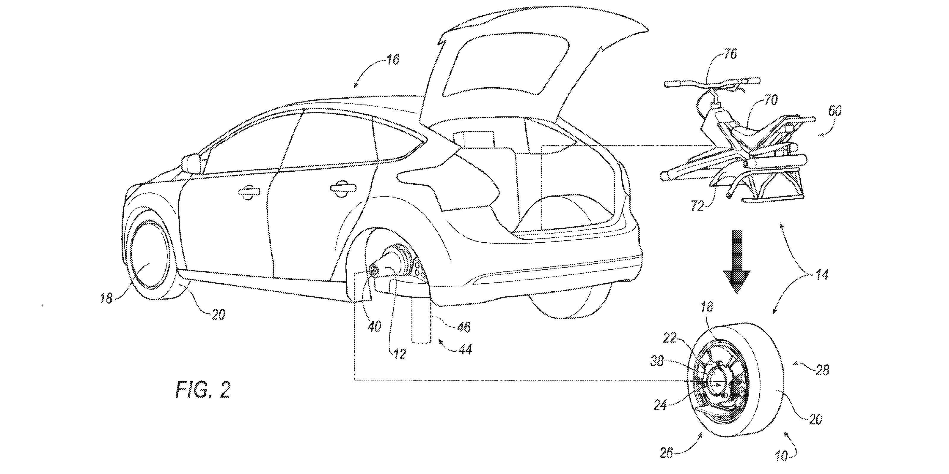 Ford Patents A Concept For An In Wheel Electric Motor That Turns