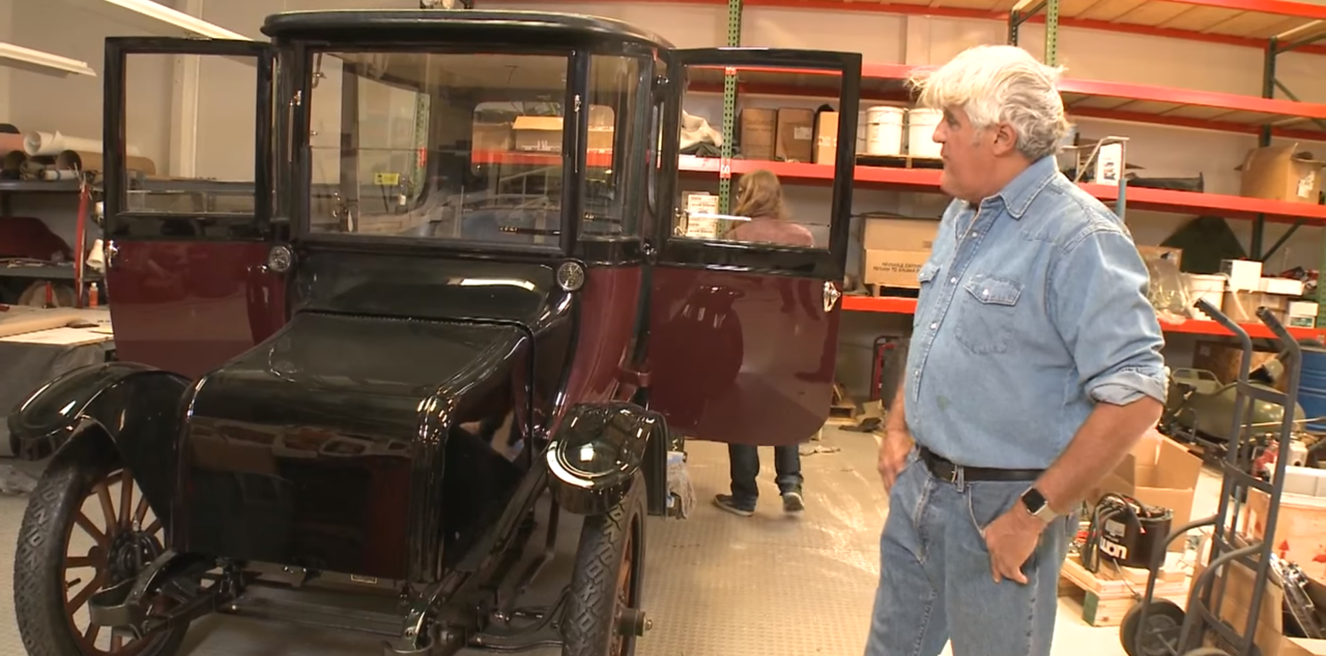 Jay Leno 1914 Detroit Electric