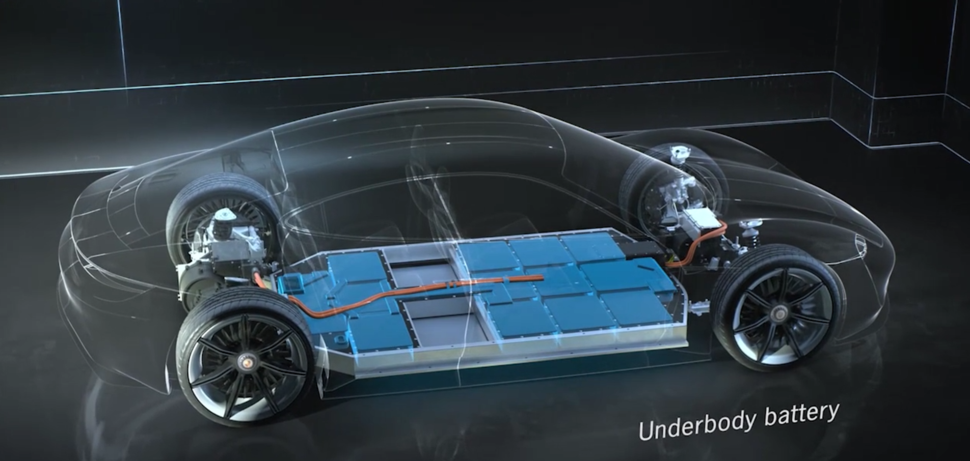 Mission E battery pack