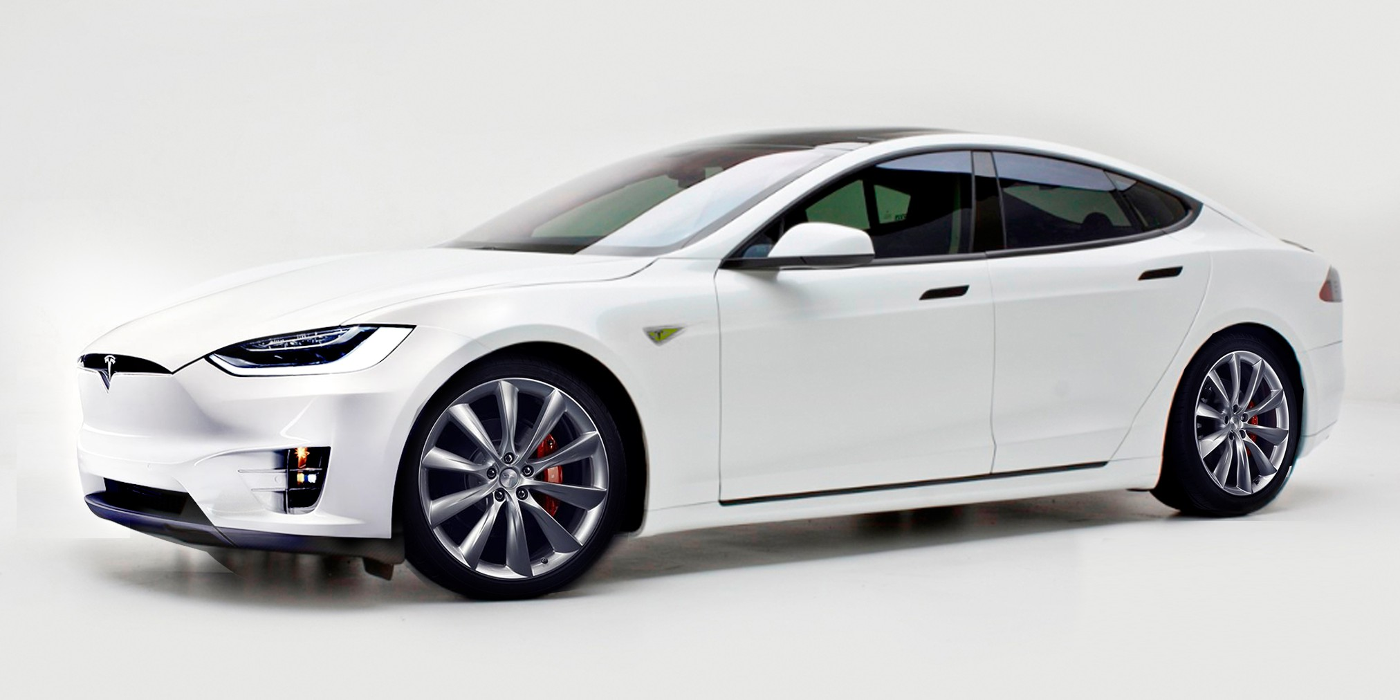Model S with Model X design