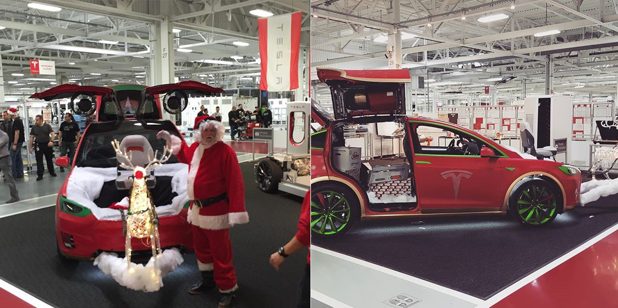 Model X christmas