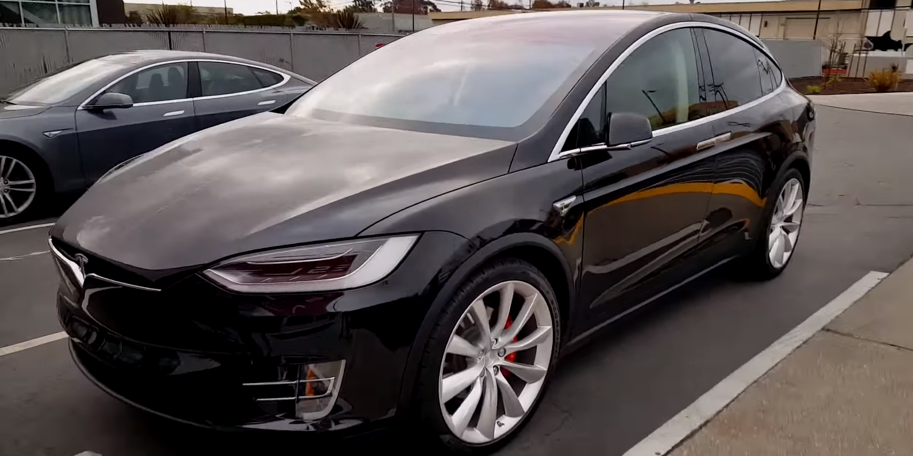 Tesla Model X Founders Series 36 Spotted In California
