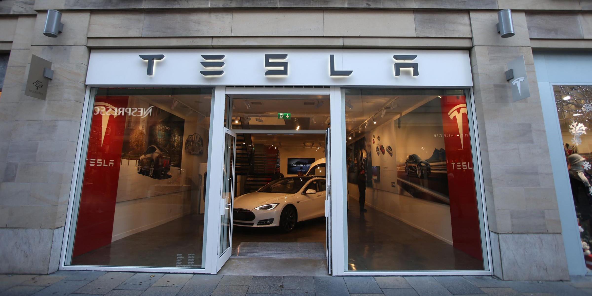scotland Tesla