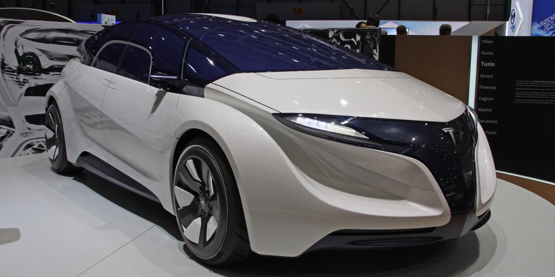 Tesla concept car geneva
