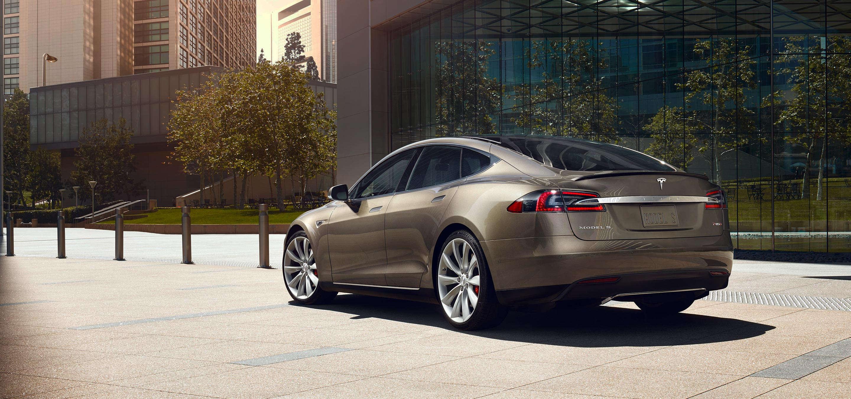 Tesla Model S promo shot