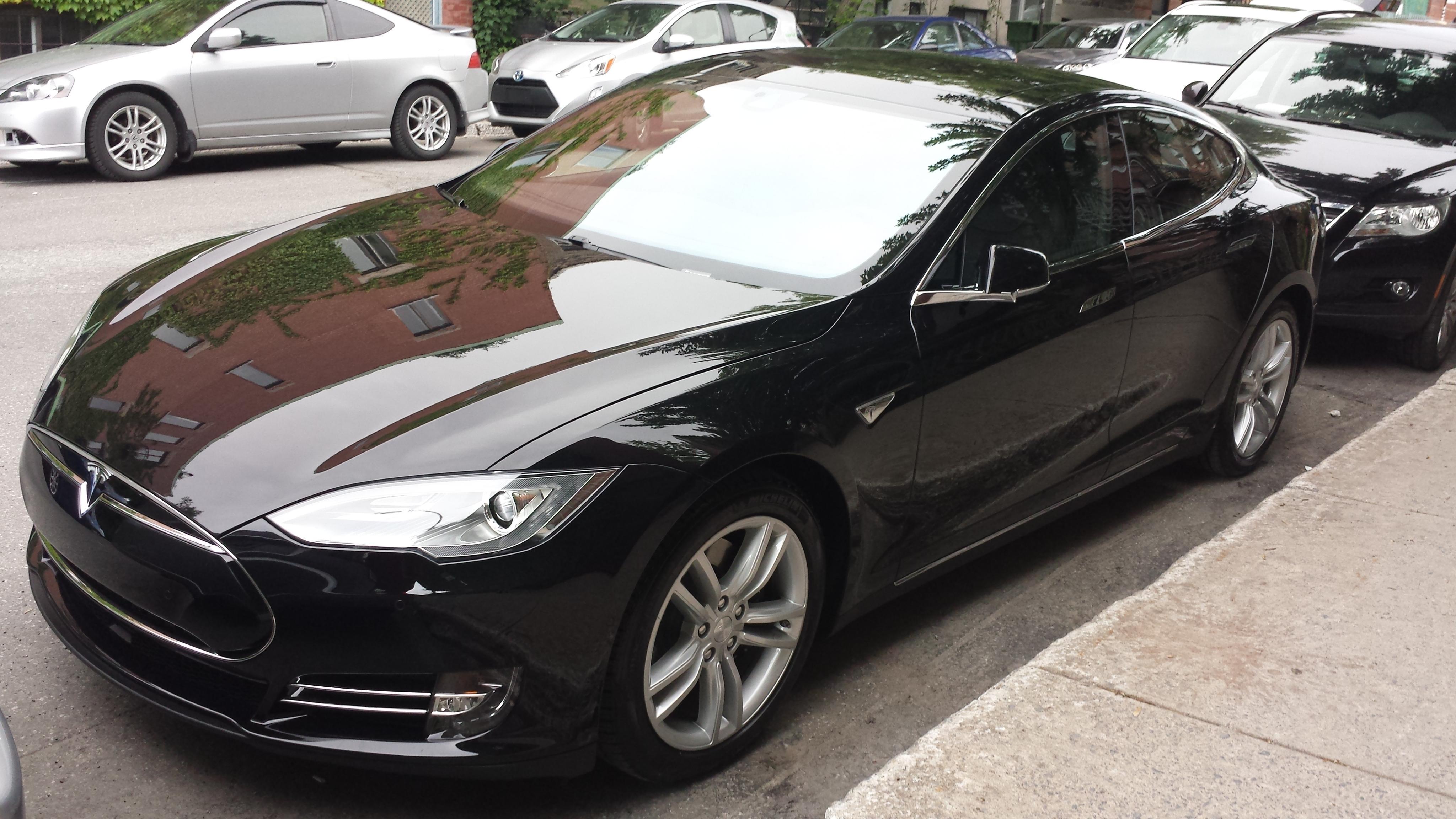 What Is Uber Black Car >> Tesla Obsidian black | Electrek