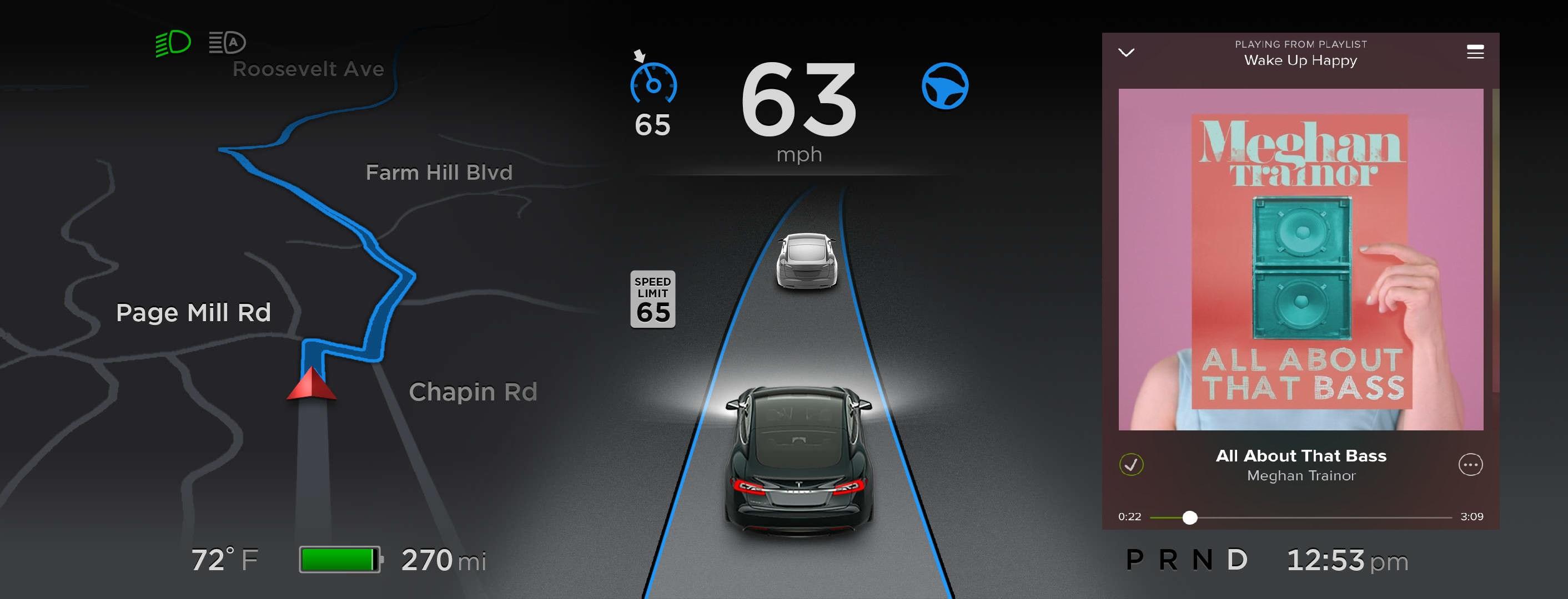 Tesla Spotify