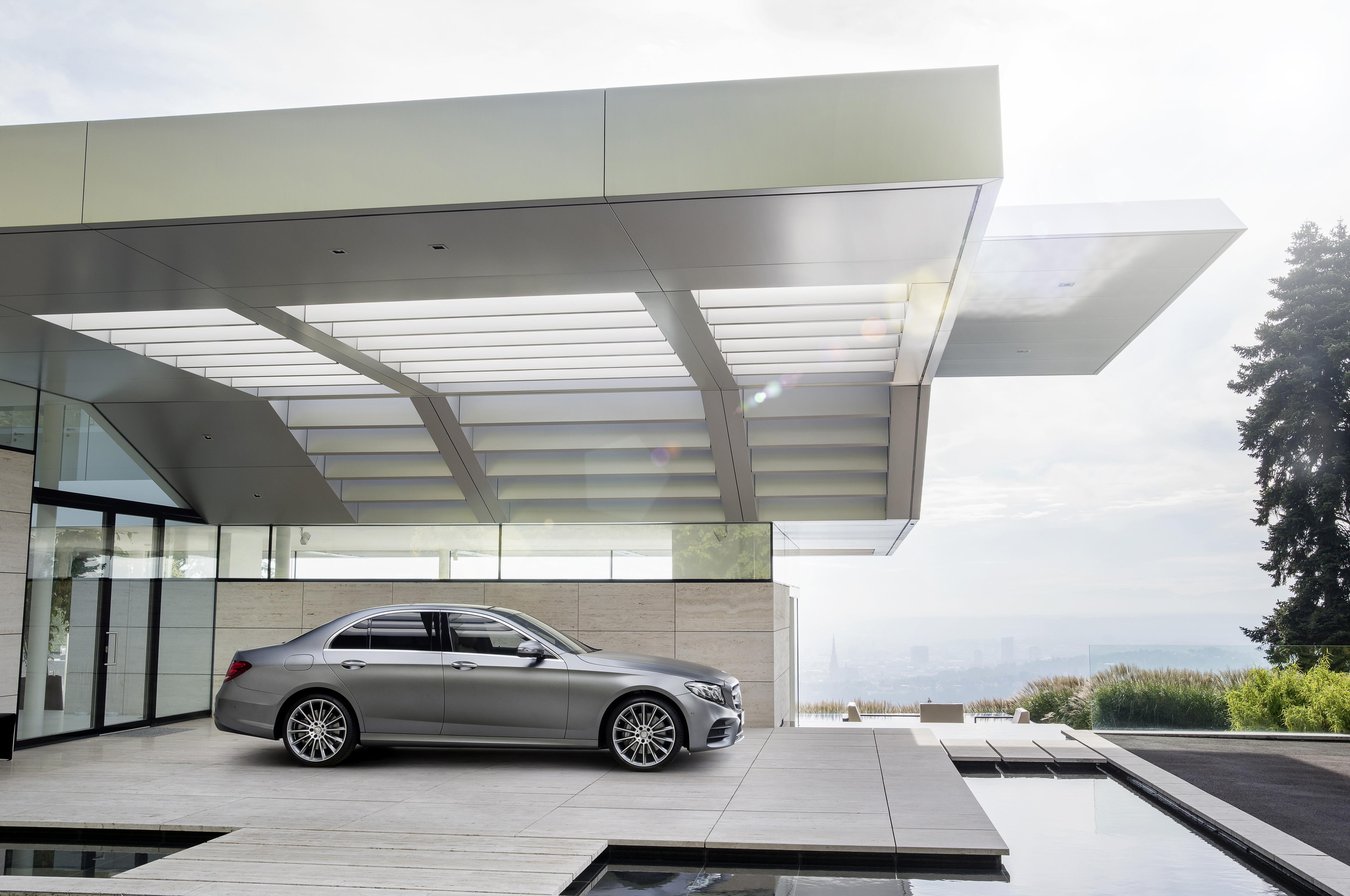 Mercedes Unveils Its 2017 E Class 350e Plug In Hybrid With 18 Miles Benz Cl 400 4matic Amg Line Selenitgrau Magno Leder Schwarz Sattelbraun Selenit Grey Leather Black Saddle Brown