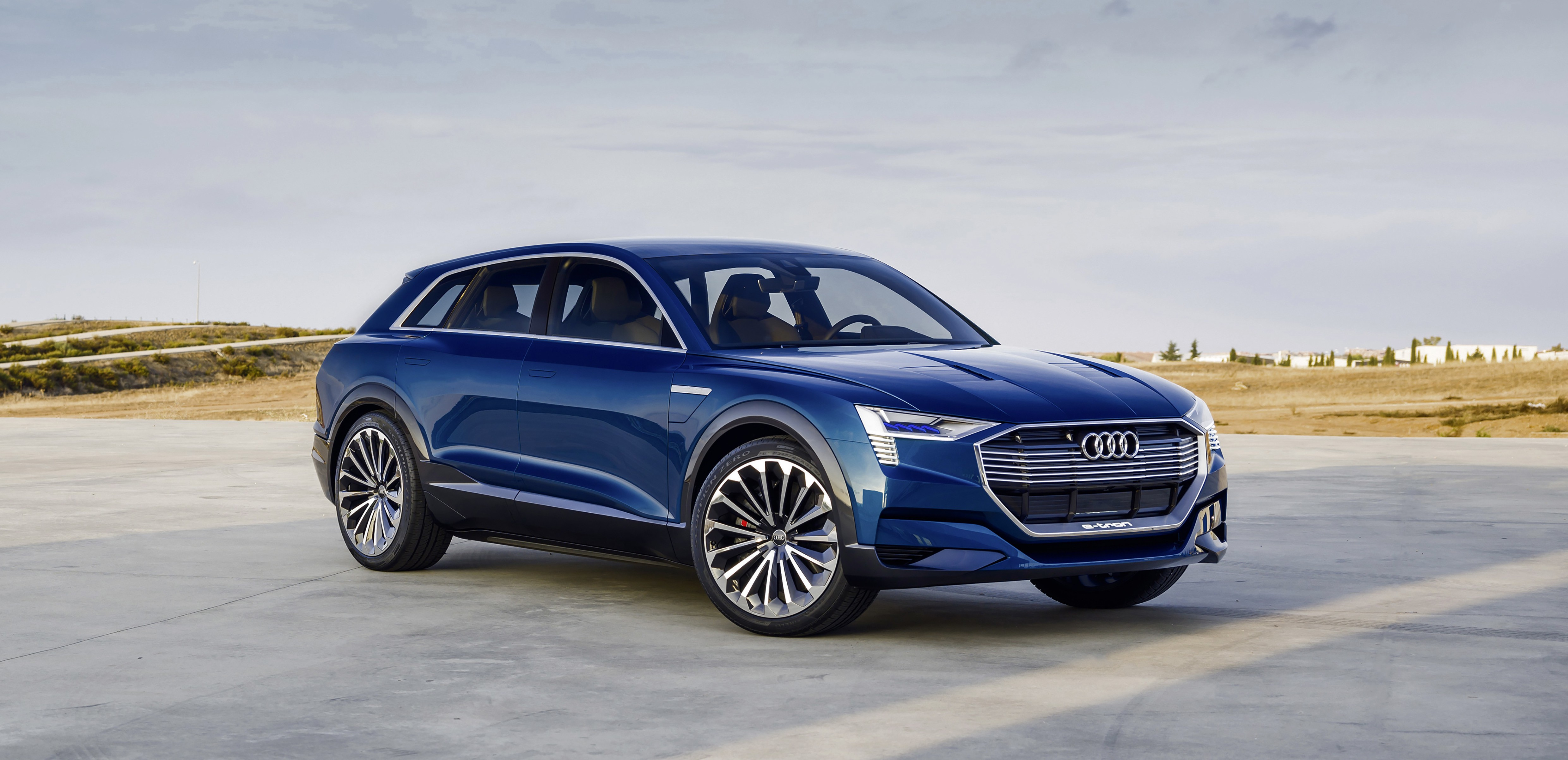 The Audi E Tron Quattro Concept Study That Was Presented At Frankfurt Motor Show In 2017 Provides A Clear Indication Of Final Production Version