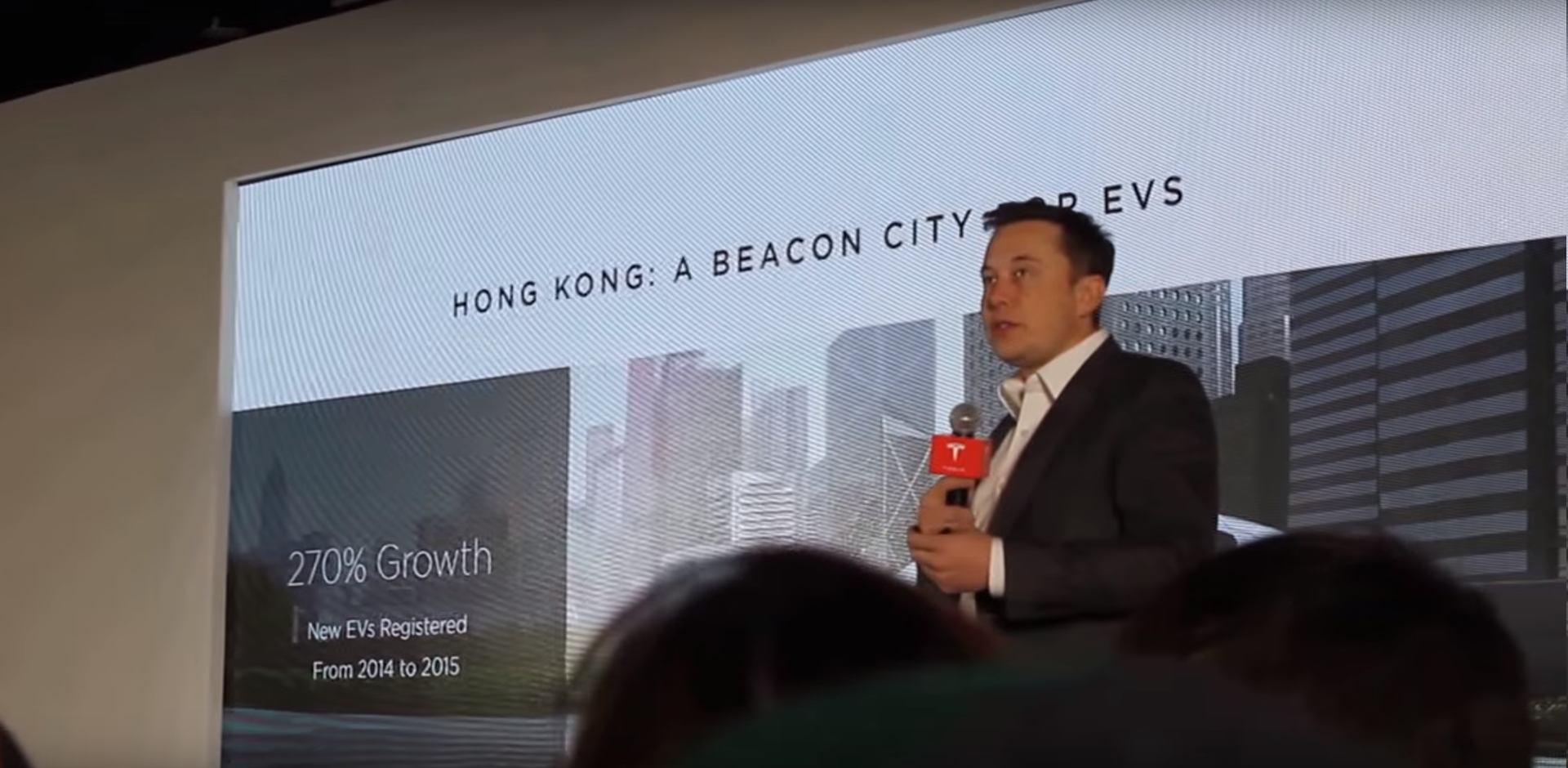 Elon Musk hong kong event