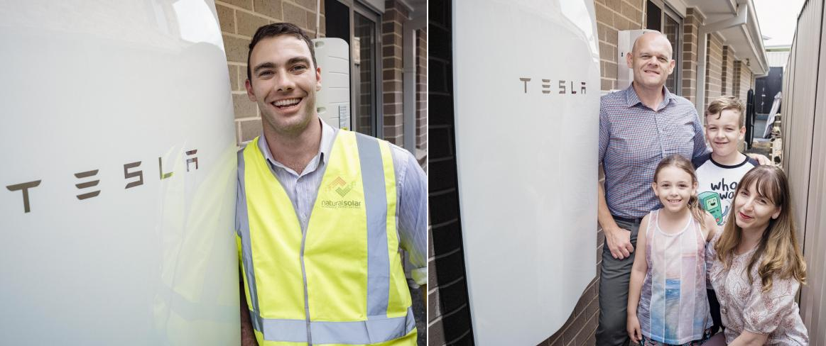 first powerwall in australia