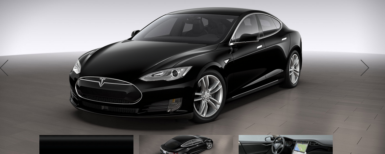 Model S design studio