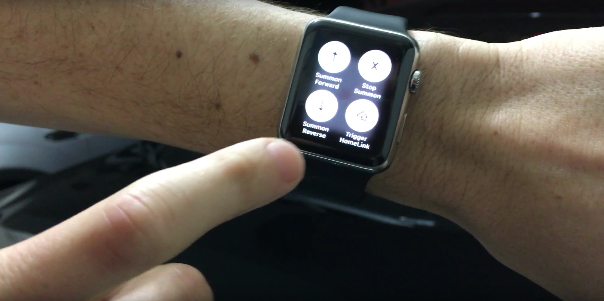 apple watch summon model s