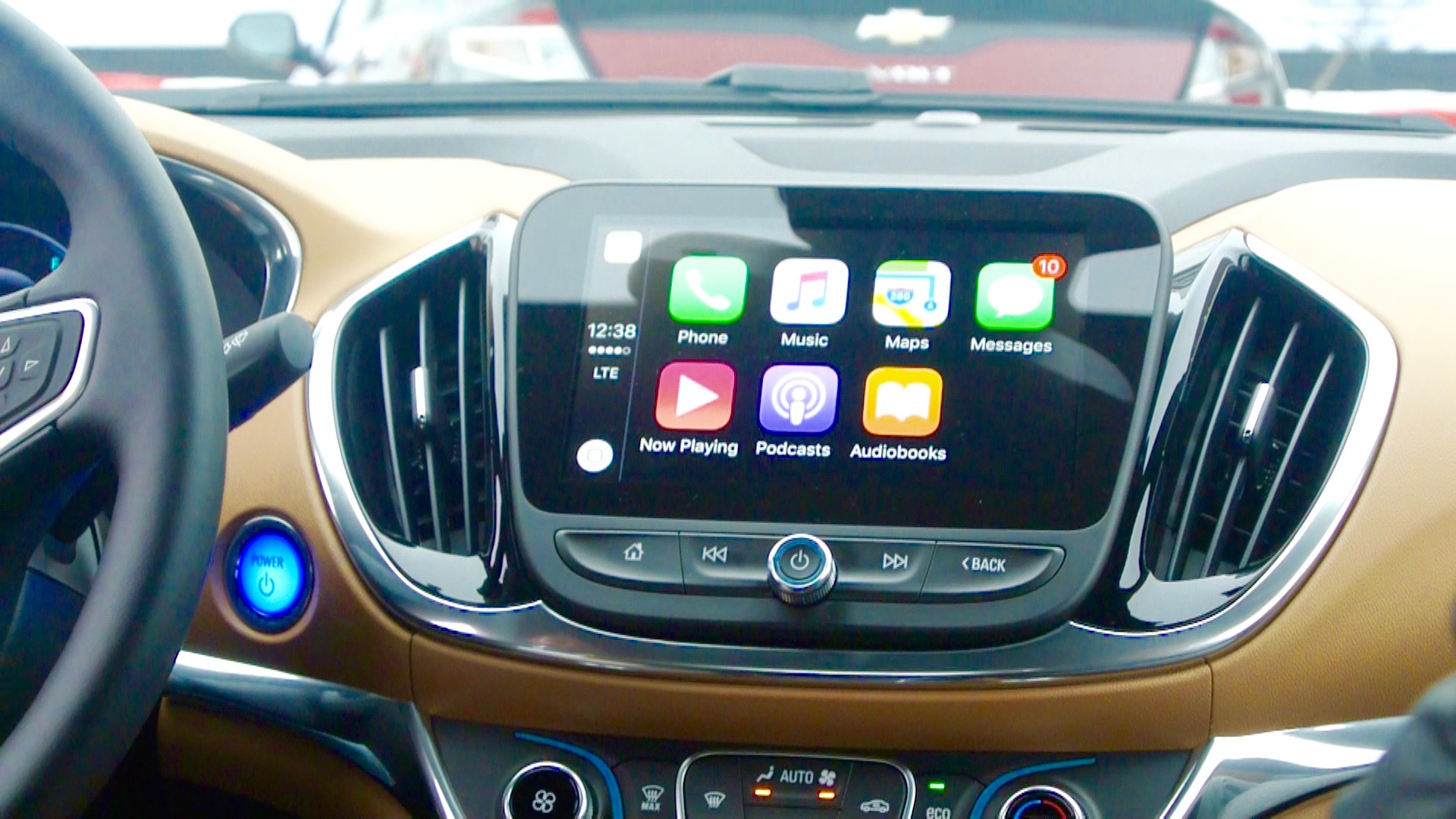 Chevy Volt CarPlay