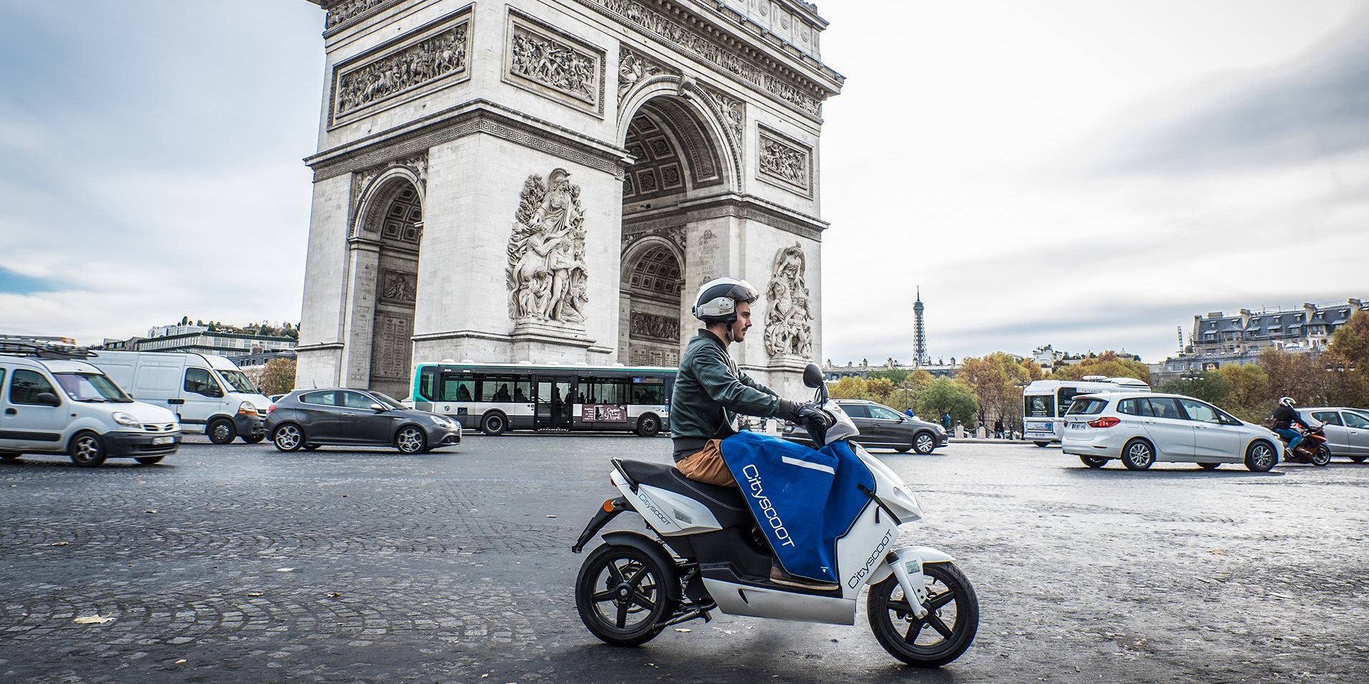 PAris Scooter-electric-free