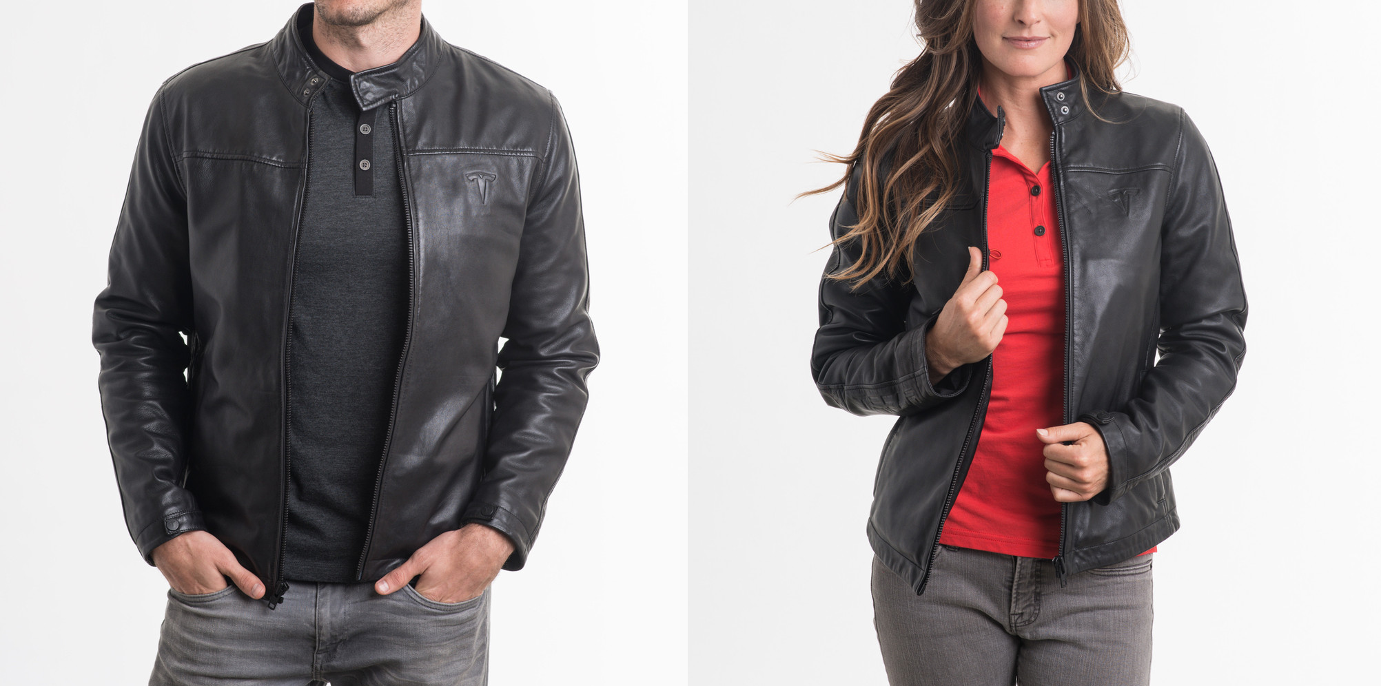 tesla leather jacket