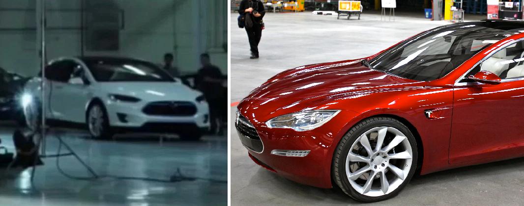 fake Model 3 leak