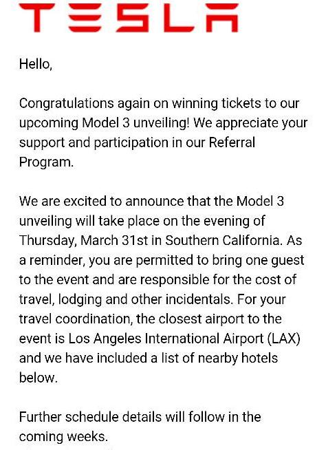 model 3 invites