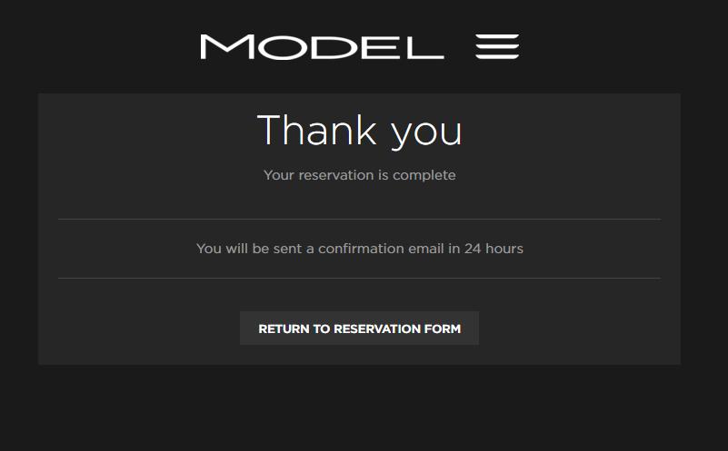 model 3 reserve