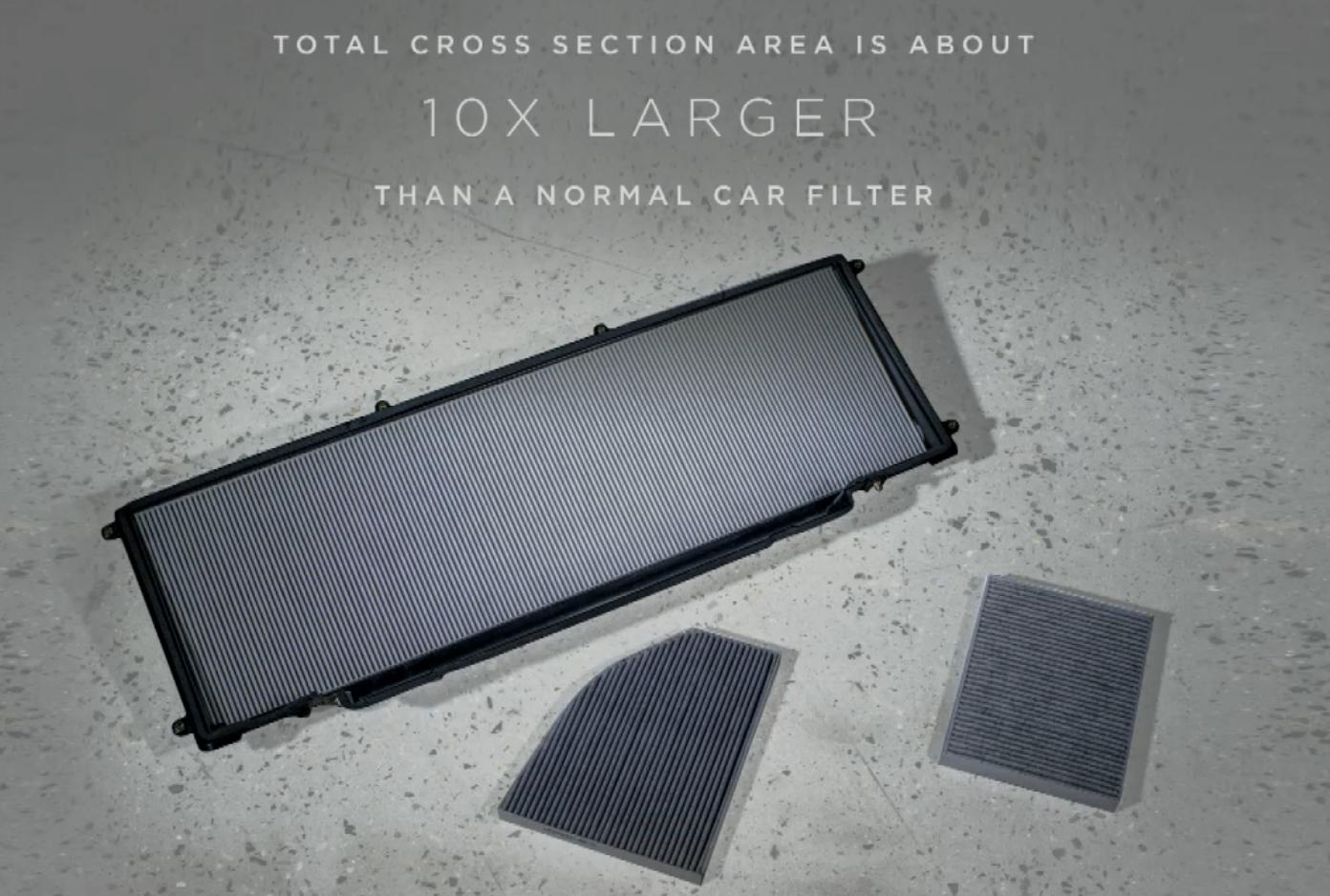 Hepa Tesla Air Filter