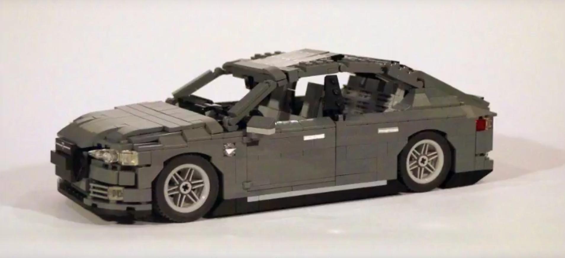 Model S lego