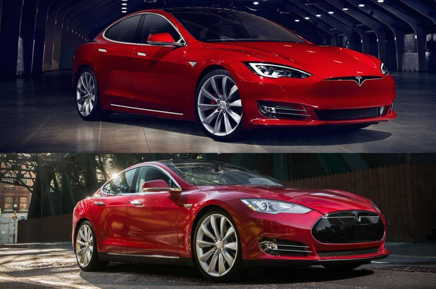 Model S nosecone - grille-less