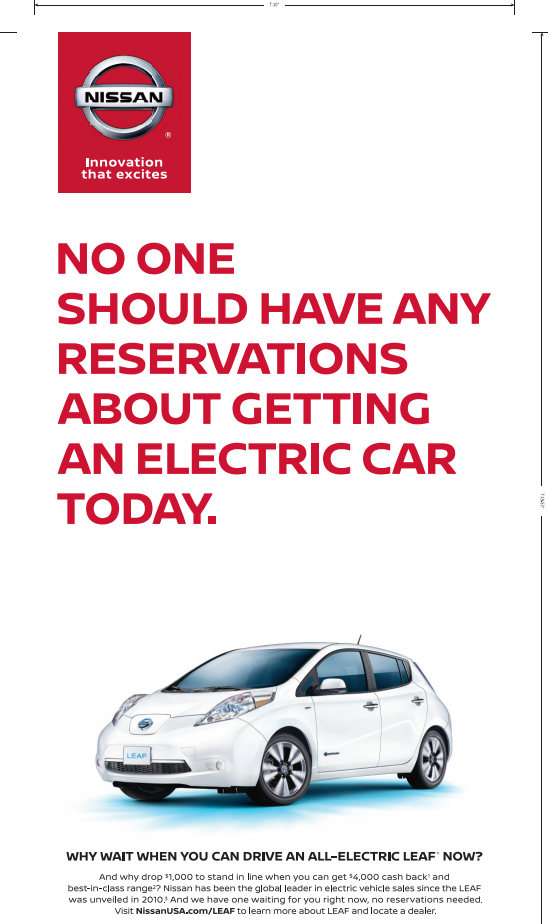 Nissan Leaf Lease >> Nissan wants Tesla Model 3 reservation holders to buy LEAFs, launches new ad campaign - Electrek