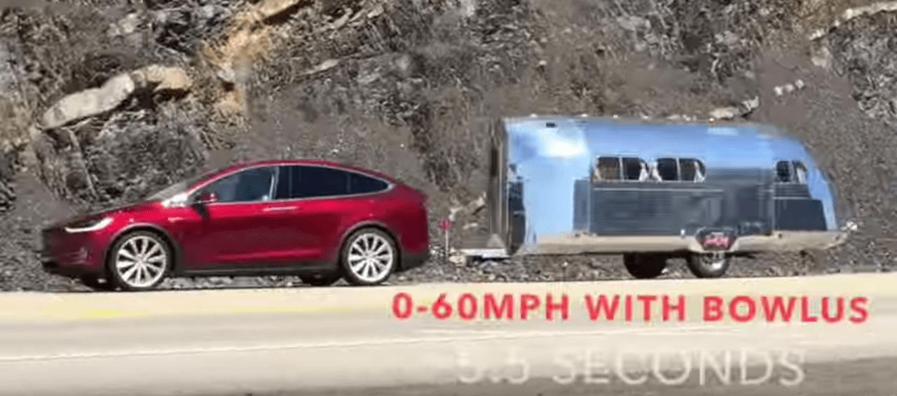 Tesla Model X tow test achieves 70% of EPA range with ...
