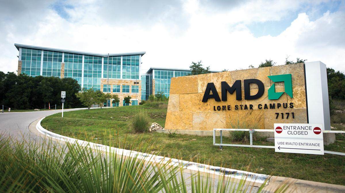 AMD's Lone Star Campus for R&D in Austin, Texas - where most of Tesla's new hires were working.