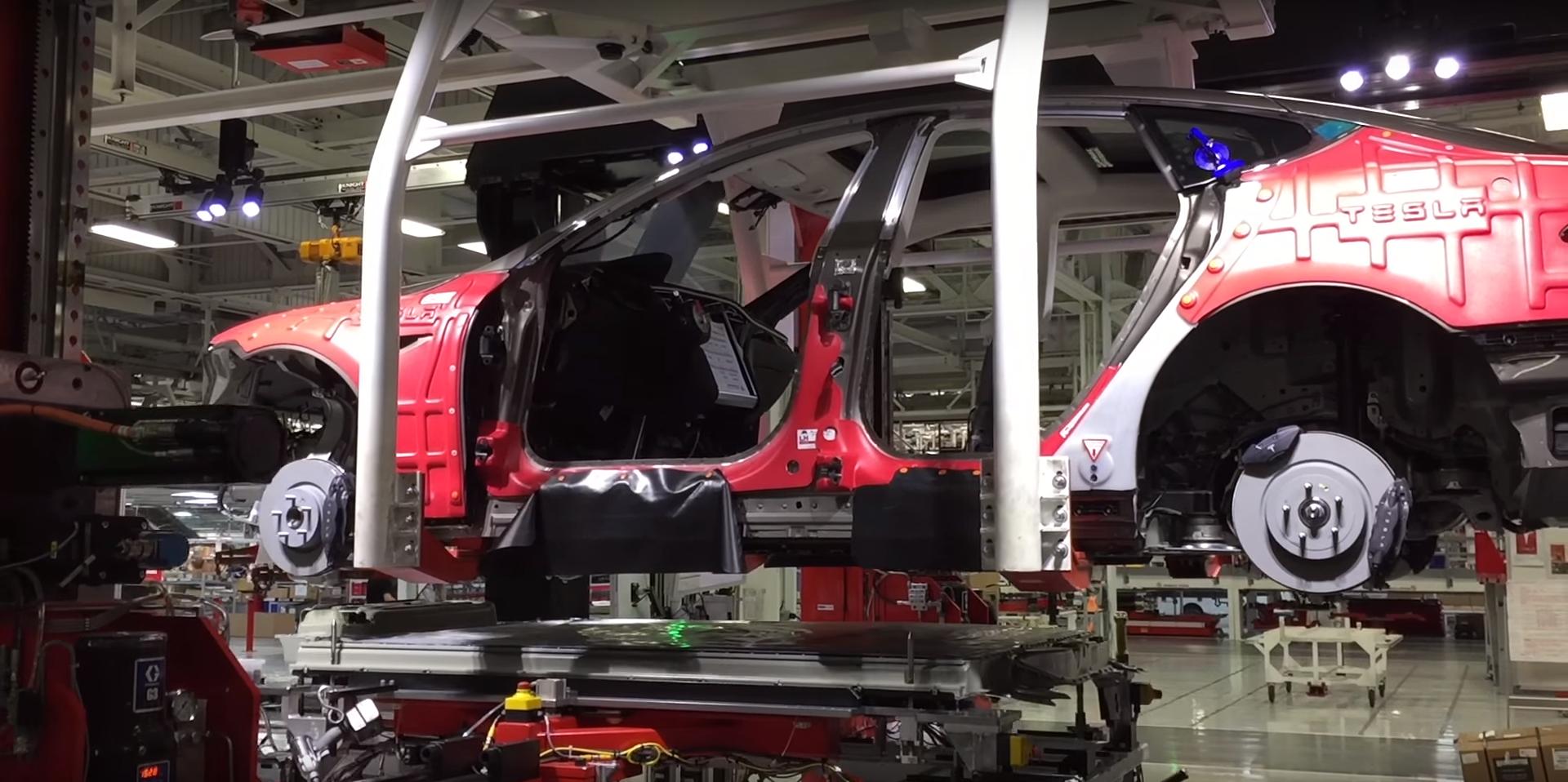Tesla Fremont factory 12