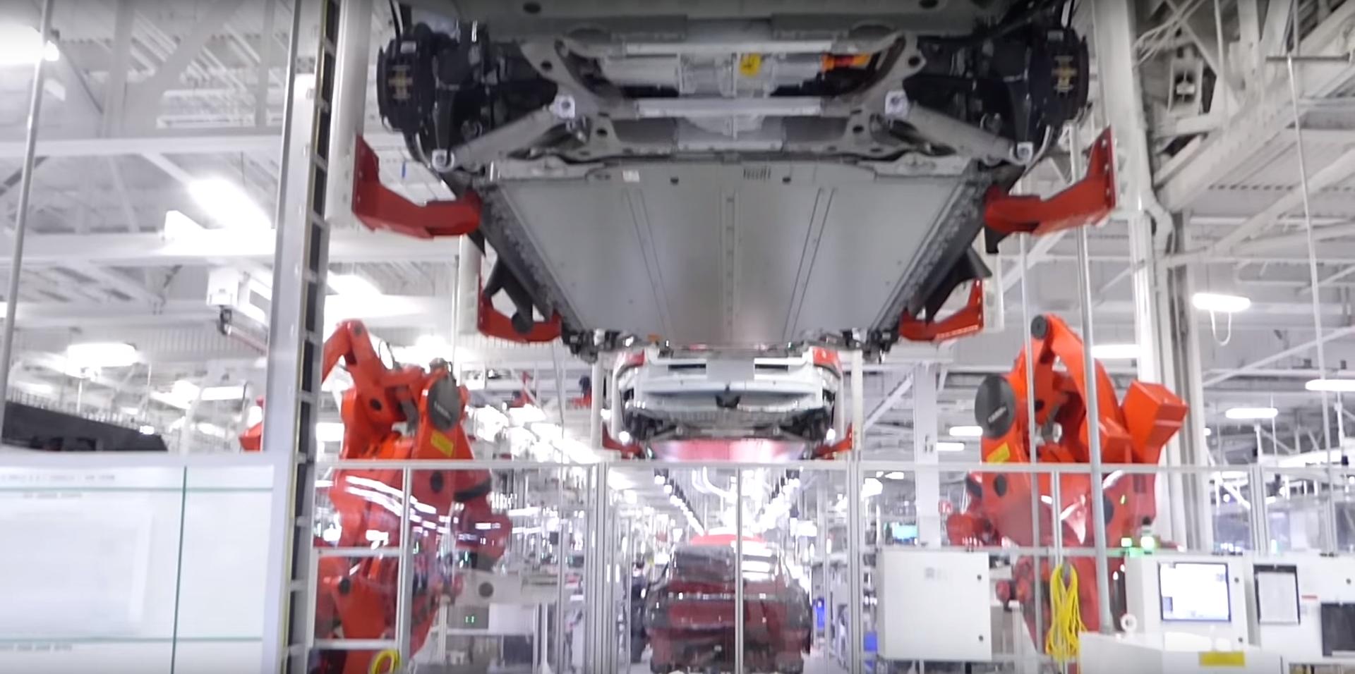 Tesla Fremont factory 14