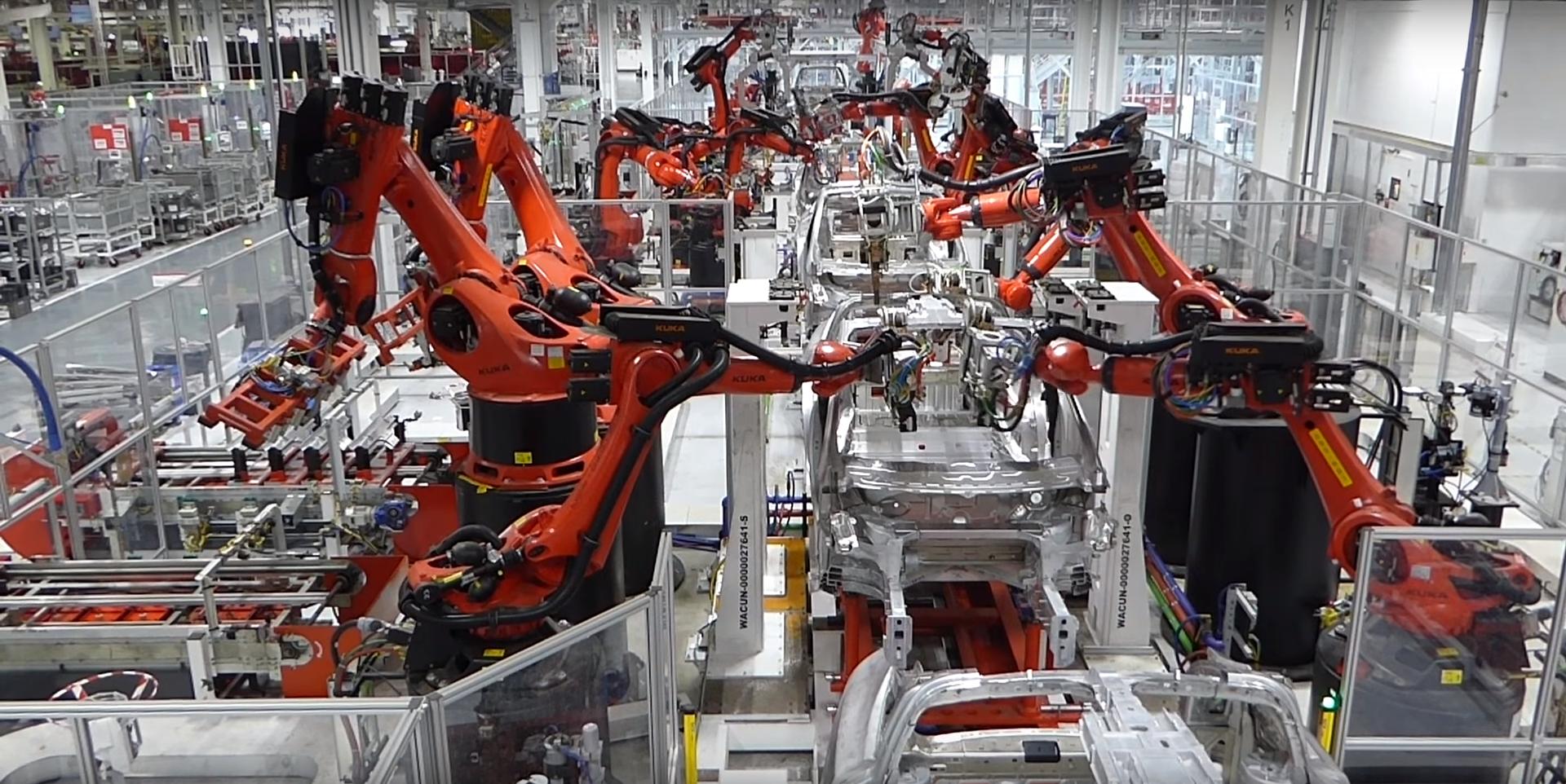 Tesla Fremont factory 7